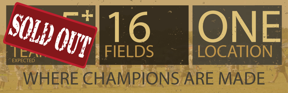115 Teams Expected Across 16 Fields At One Location
